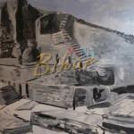 Painting of old Nalanda University