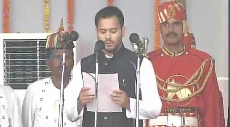 Tejaswi Yadav appointed as deputy CM