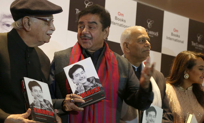Shatrughan sinha's biography Anything But Khamosh launched