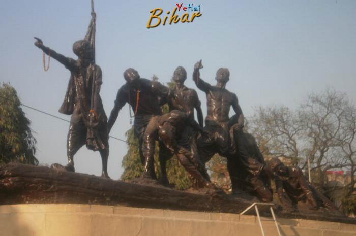 The Martyrs Memorial, Shaheed Smarak, Satmurti Patna