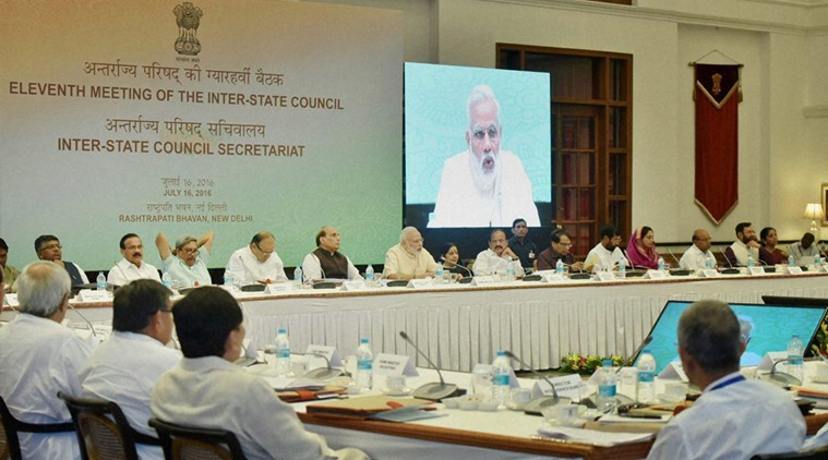 Inter state council meeting