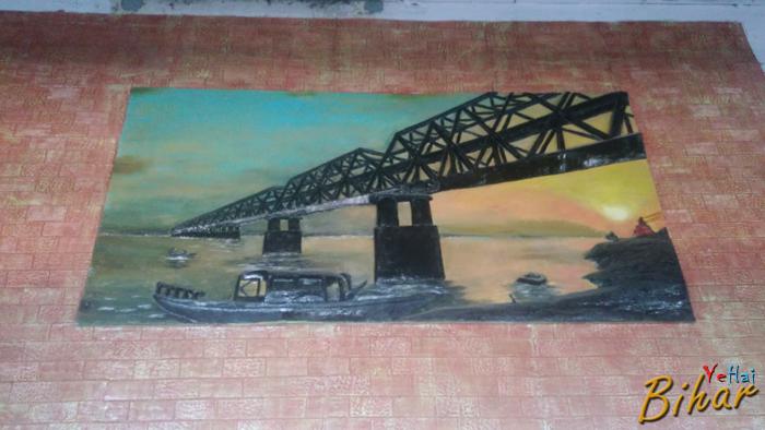 Pahleja digha rail bridge