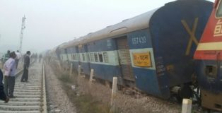 Patna-Indore Express derailed
