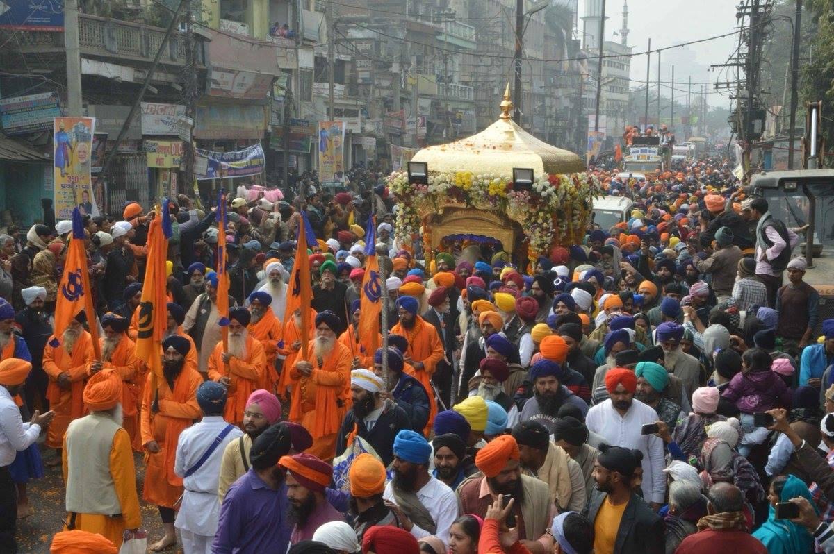 Bihar successfully hosted 350 prakash parv