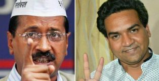 kapil mishra accuses arvind kejriwal of taking bribe