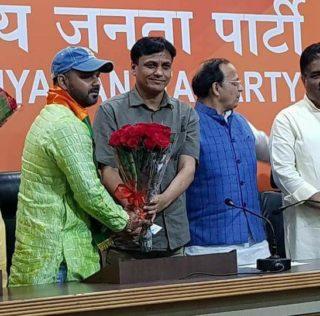 भोजपुरी सुपरस्टार अभिनेता गायक पवन सिंह ने भाजपा की सदस्यता ग्रहण की